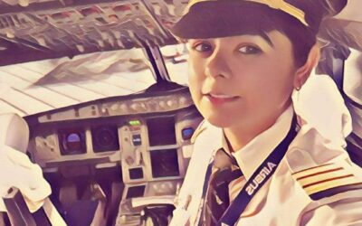 Capt. Priya Welcomes you Onboard Flight PJFLASHBACK 001